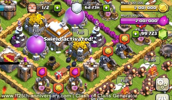 pointer game hacked clash of clans